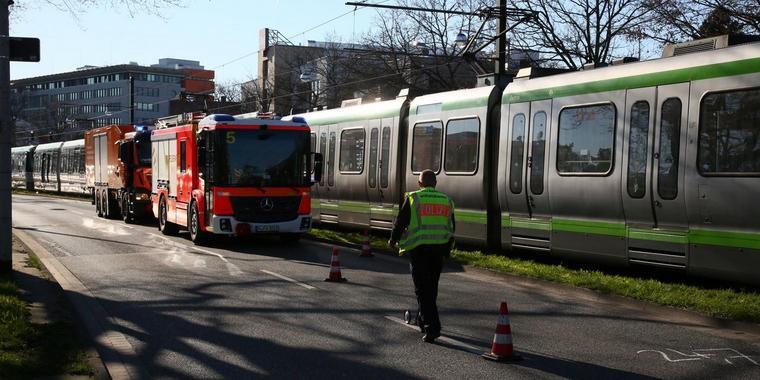 64-Jähriger von Straßenbahn erfasst