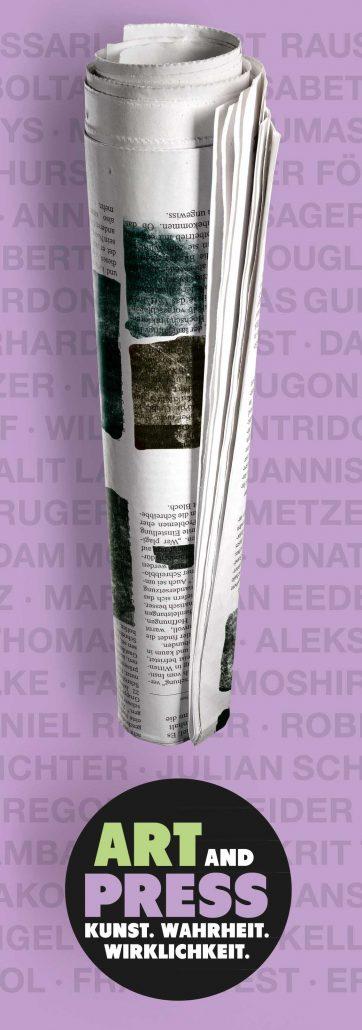 ARTandPRESS – Reflexionen zeitgenössischer Kunst auf das Medium Zeitung
