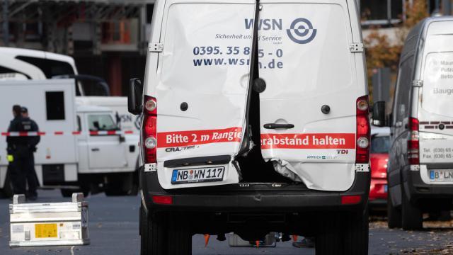 Dreister Überfall auf Kippen-Laster