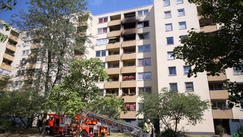 Frau stirbt nach Wohnungsbrand im Pillnitzer Weg