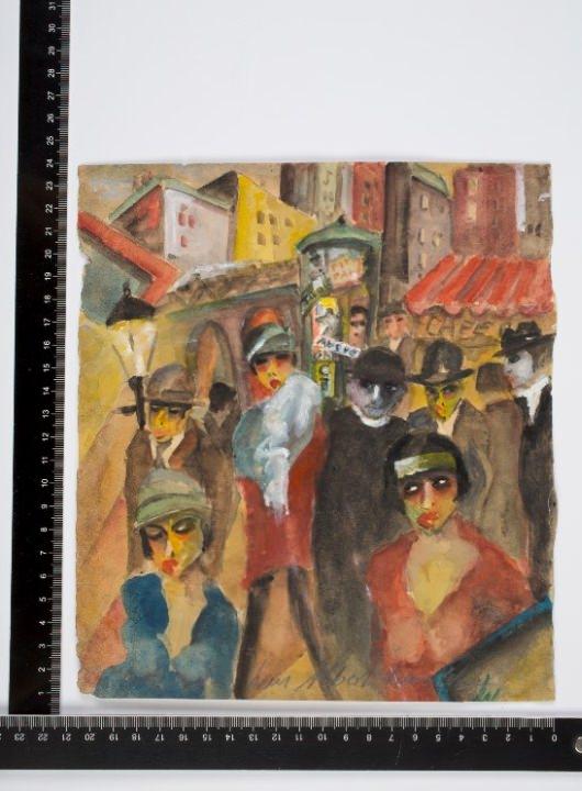 Lou Albert-Lasard Fälschungen: Kunstfälscher begeht nach Geständnis Selbstmord