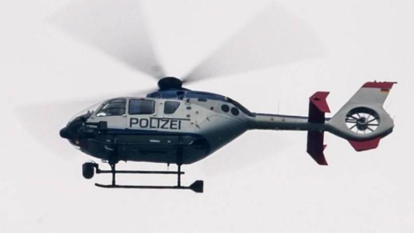Mann blendet Polizeihubschrauber mit Laser: Festnahme