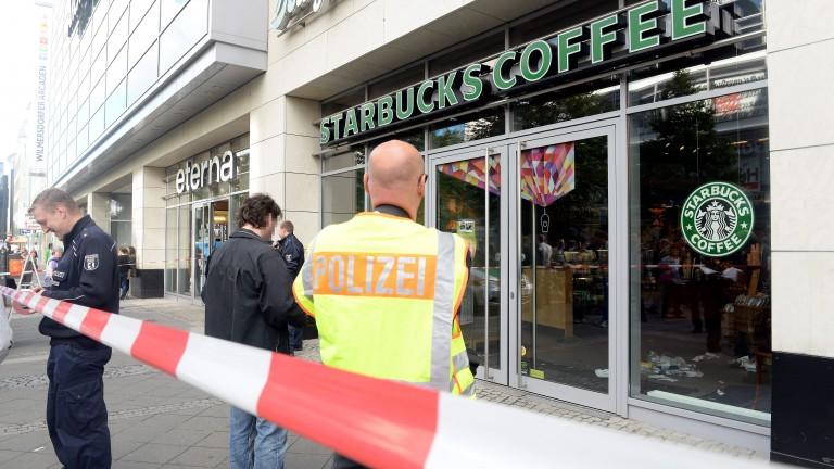 Mann vor Starbucks niedergestochen – Verdächtiger festgenommen