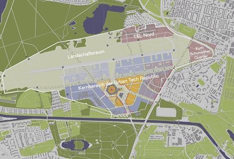 Masterplan für Flughafen Tegel beschlossen