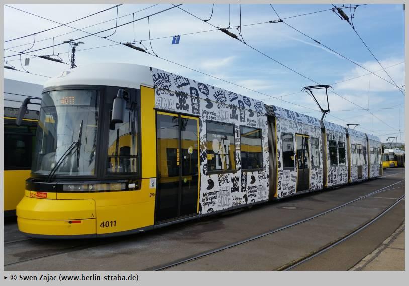 Pankow – Einschränkungen im Straßenbahnverkehr der Linien M1 und 50