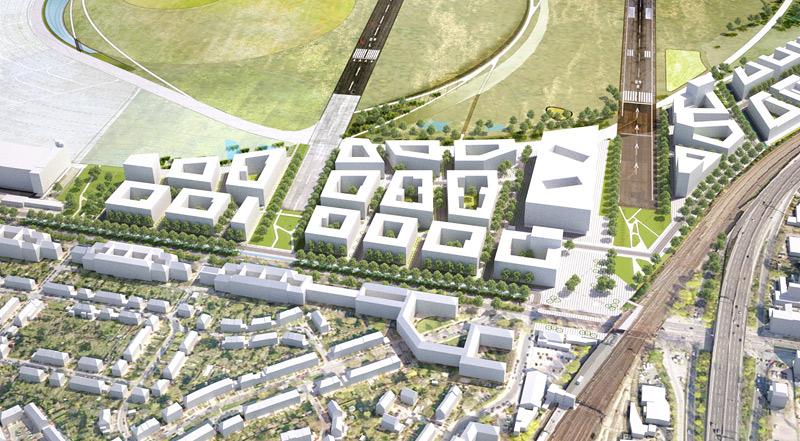 Pläne für Bebauung des Tempelhofer Feldes vorgestellt – Baubeginn ist Anfang 2016