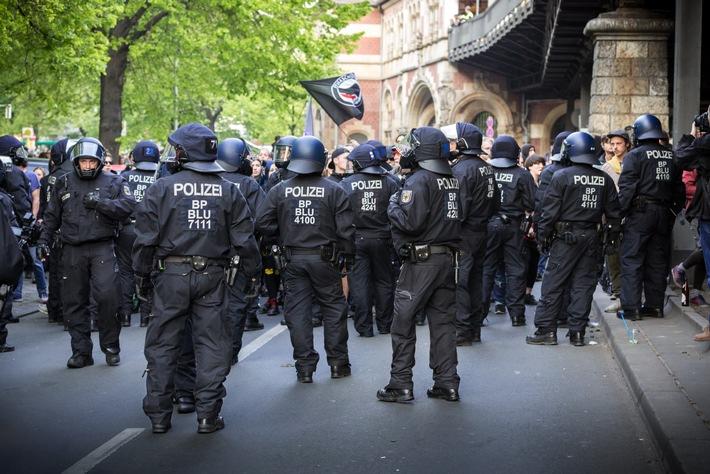 Polizei: Walpurgisnacht ohne nennenswerte Vorkommnisse