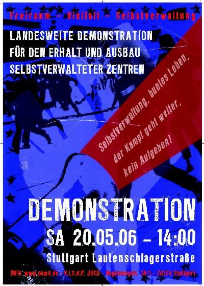 """Polizeibilanz zum """"Zentralen Aktionstag gegen Repression"""""""