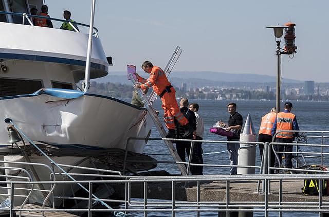 Schiffsunfall: Sportmotorboot sinkt nach Kollision