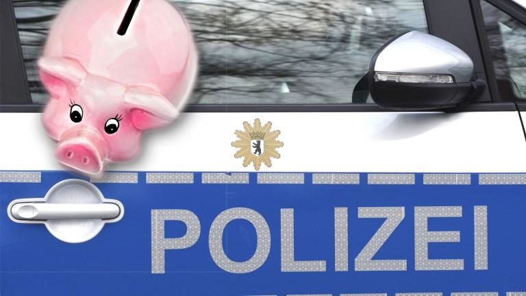 Schwein gehabt: Räuber erbeutet bei Überfall nur ein Sparschwein