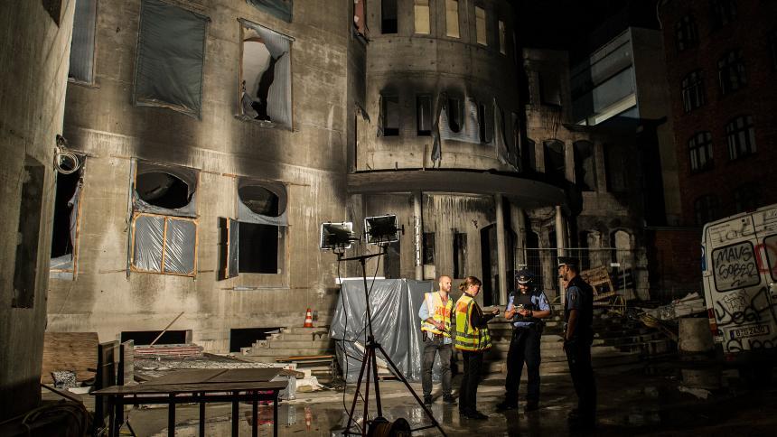 Staatsschutz ermittelt nach Brand an Mevlana-Moschee