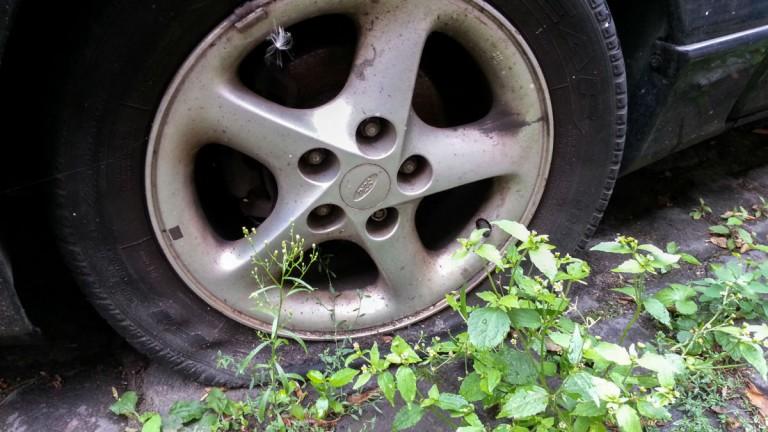 Unbekannte zerstechen fast 300 PKW-Reifen